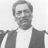 Jerry James, a known survivor of the 1860 massacre