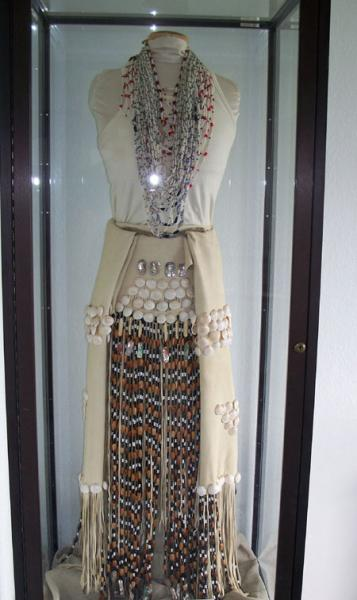 Wiyot Regalia dance dress